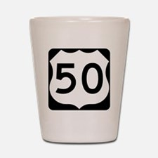 US50 Shot Glass