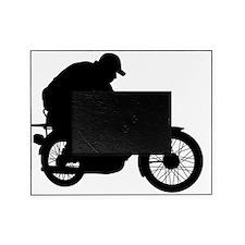 MopedLOGOsilhouette Picture Frame