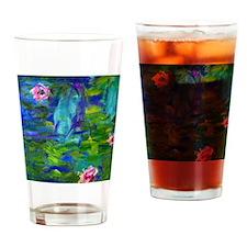 iPad Monet Lilies2 Drinking Glass