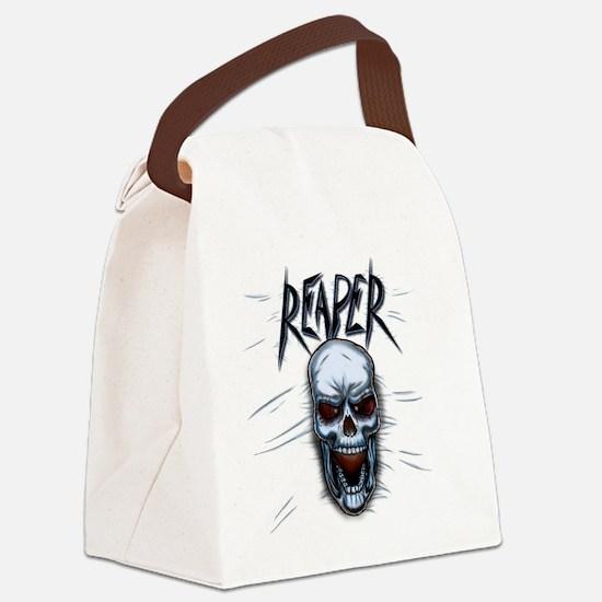 Reaper Shirt_10x10_apparel Canvas Lunch Bag