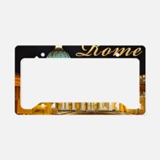 large print2 License Plate Holder