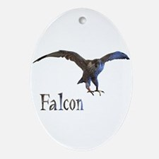 falcon Oval Ornament