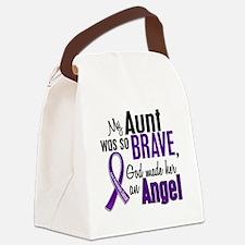 D Aunt Canvas Lunch Bag