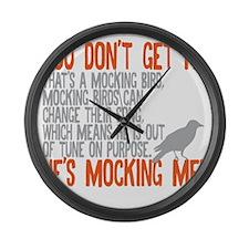 Mocking Large Wall Clock