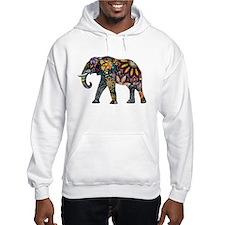 Colorful Elephant Hoodie