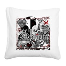 best new twilight t-shirts tw Square Canvas Pillow