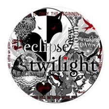 best new twilight t-shirts twilig Round Car Magnet