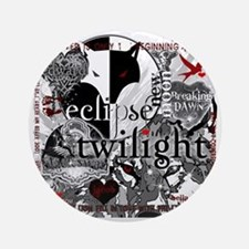 best new twilight t-shirts twilight Round Ornament