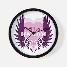twilight new moon best new twilight t-s Wall Clock