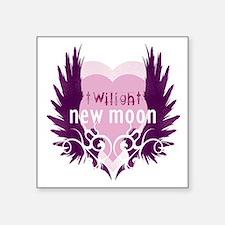 """twilight new moon best new  Square Sticker 3"""" x 3"""""""