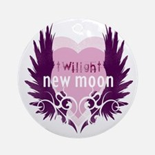 twilight new moon best new twilight Round Ornament
