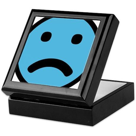 Sad Face Keepsake Box