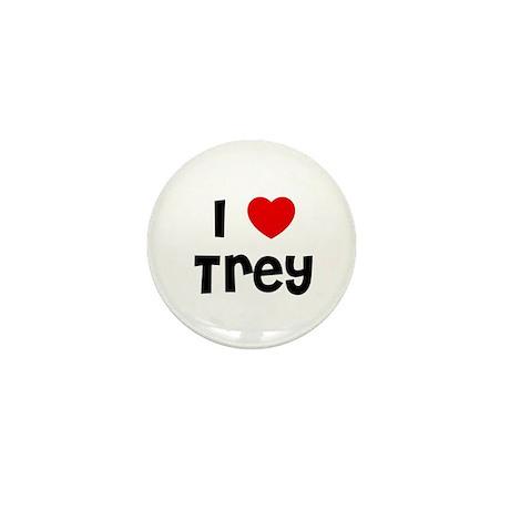 I * Trey Mini Button (10 pack)