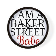 iamabakerstreetbabe Wall Clock