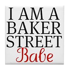 iamabakerstreetbabe Tile Coaster