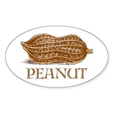 PEANUT -- Oval Decal