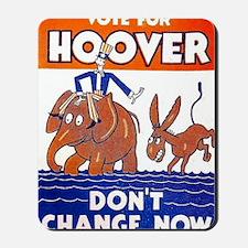 ART vote for hoover Mousepad