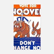 ART vote for hoover Decal