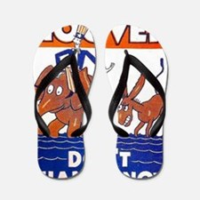ART vote for hoover Flip Flops