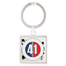 roundlogo41 Square Keychain