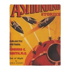 Astounding Stories Oct 1937 Throw Blanket