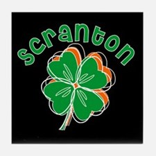 Scranton Shamrocks Tile Coaster
