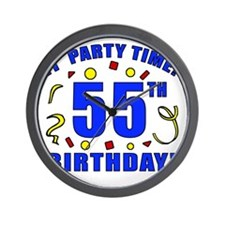 PartyTime55 Wall Clock