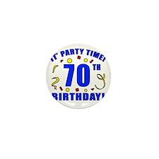 PartyTime70 Mini Button