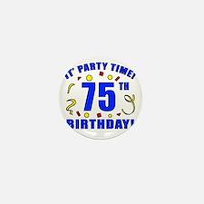 PartyTime75 Mini Button