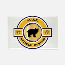 Manx Herder Rectangle Magnet