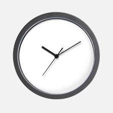 feb12_hypocrites_white Wall Clock