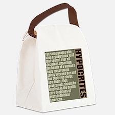 feb12_hypocrites_colors_1 Canvas Lunch Bag