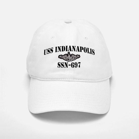 USS INDIANAPOLIS Baseball Baseball Cap