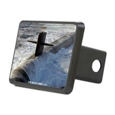 maine framed panel print Hitch Cover