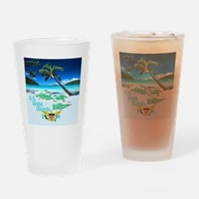 VIRGIN ISLANDS Drinking Glass