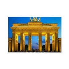 large print_0000_Brandenburg Gate Rectangle Magnet