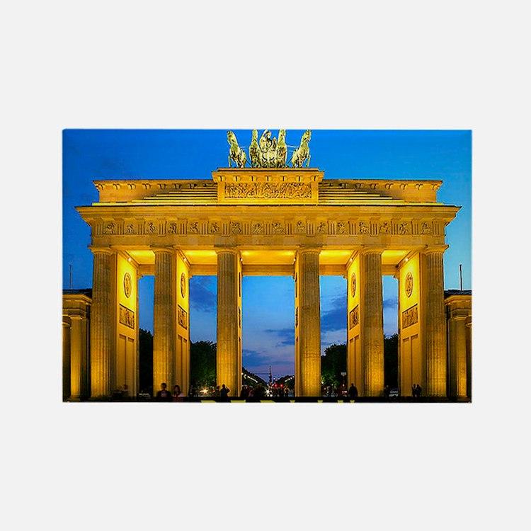 large print_0000_Brandenburg Gate Rectangle Magnet