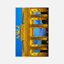 3g_0000_Brandenburg Gate Thomas W Rectangle Magnet