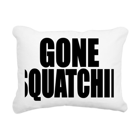 bobo squatchin Rectangular Canvas Pillow