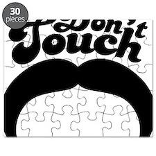 Dont Touch Mustache Puzzle