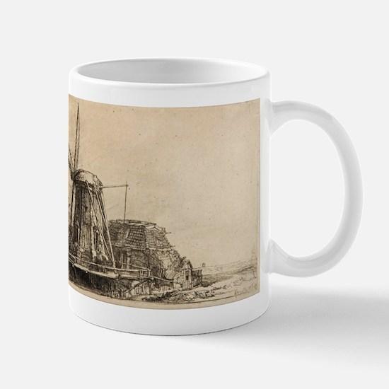 The Windmill - Rembrandt - c1641 Mug
