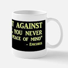 Clear Evidence Mug