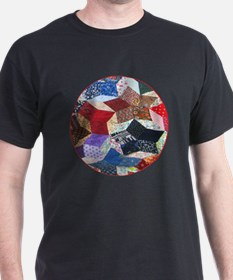 Quilt one _Button_Lg T-Shirt