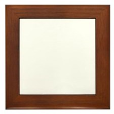 crackiswackwhite Framed Tile