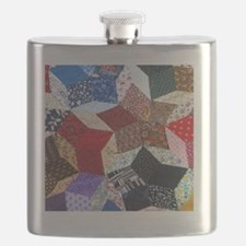 Quilt one_Tile Flask