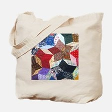 Quilt one_Tile Tote Bag