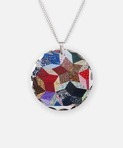 Quilt one_Tile Necklace