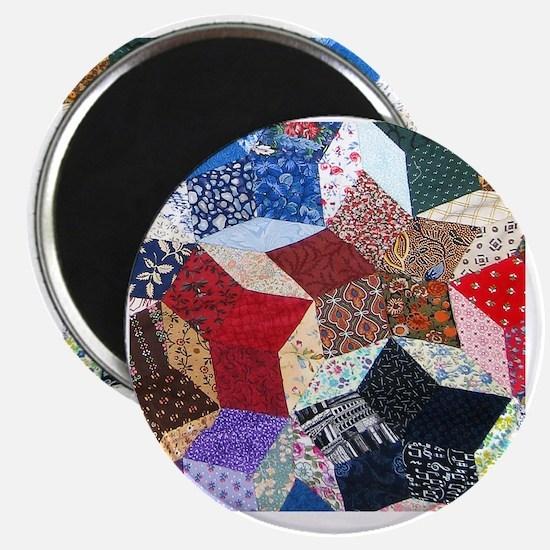 Quilt one_Tile Magnet