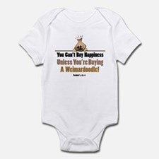 Weimardoodle dog Infant Bodysuit