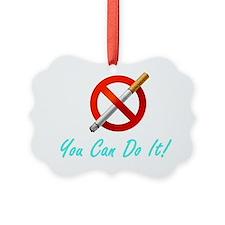 No Smoking Tee33 Ornament